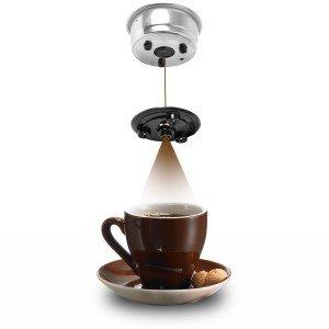 Espressomaschine für eine Crema