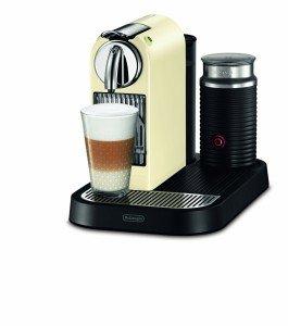 Espressomaschine mit Milchschäumer