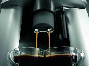 Espresso aus der Maschine