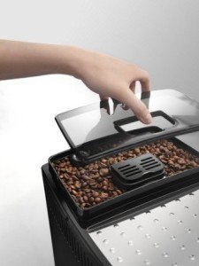 Bedienung des Kaffeevollautomat