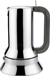 Edelstahl-Espressokocher von Alessi