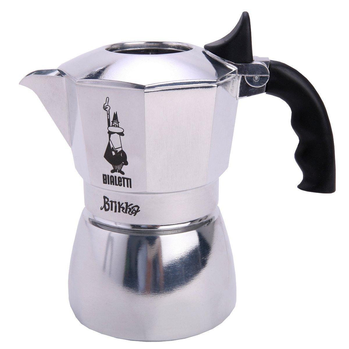 espressomaschine f r den herd vergleich brikka elite von bialetti