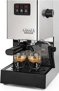 Italienische Espressomaschine mit Siebträger